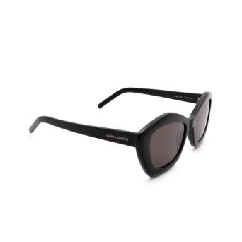 Saint Laurent® Butterfly Sunglasses: SL 68 color Black 001.