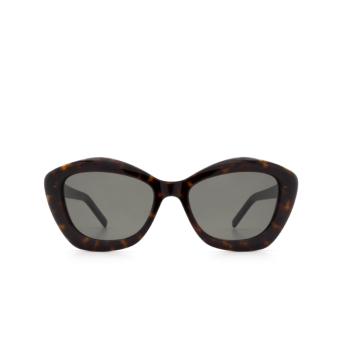 Saint Laurent® Irregular Sunglasses: SL 68 color Havana 002.