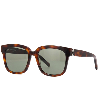 Saint Laurent® Square Sunglasses: SL M40 color Havana 005.