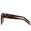 Saint Laurent® Square Sunglasses: SL M40 color Havana 005 - product thumbnail 3/3.