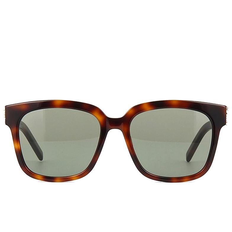 Saint Laurent® Square Sunglasses: SL M40 color Havana 005.