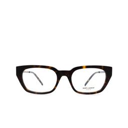 Saint Laurent® Eyeglasses: SL M48 color Havana 004.