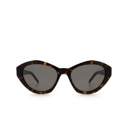 Saint Laurent® Sunglasses: SL M60 color Havana 002.