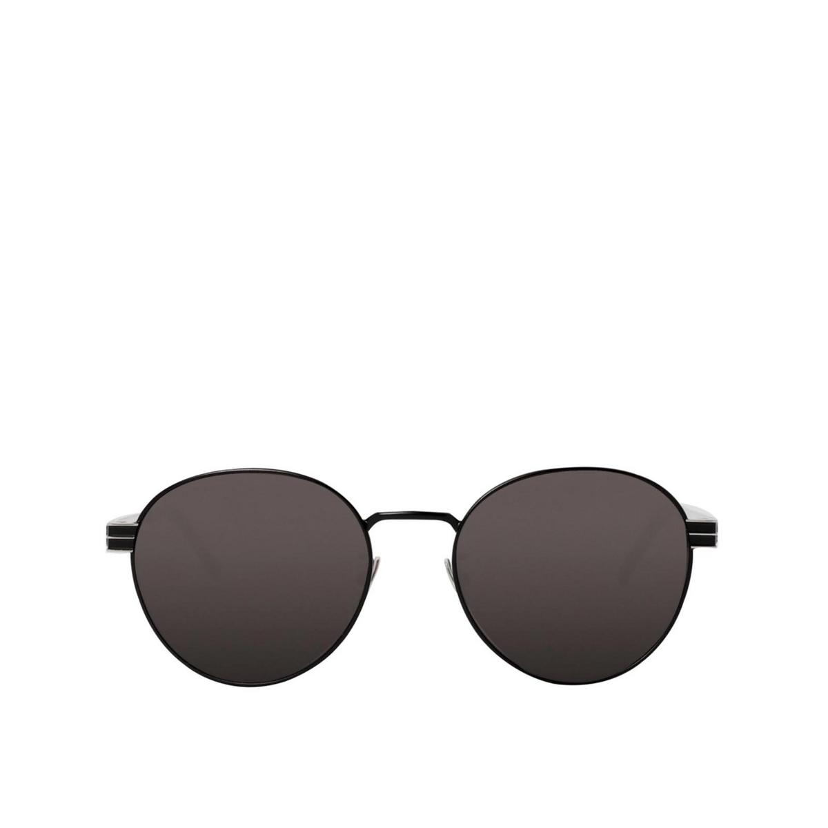 Saint Laurent® Round Sunglasses: SL M65 color Black 002 - front view.
