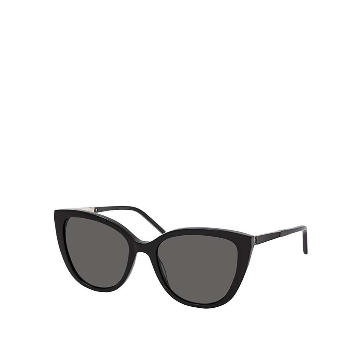 Saint Laurent® Cat-eye Sunglasses: SL M70 color Black 001 - 2/2.