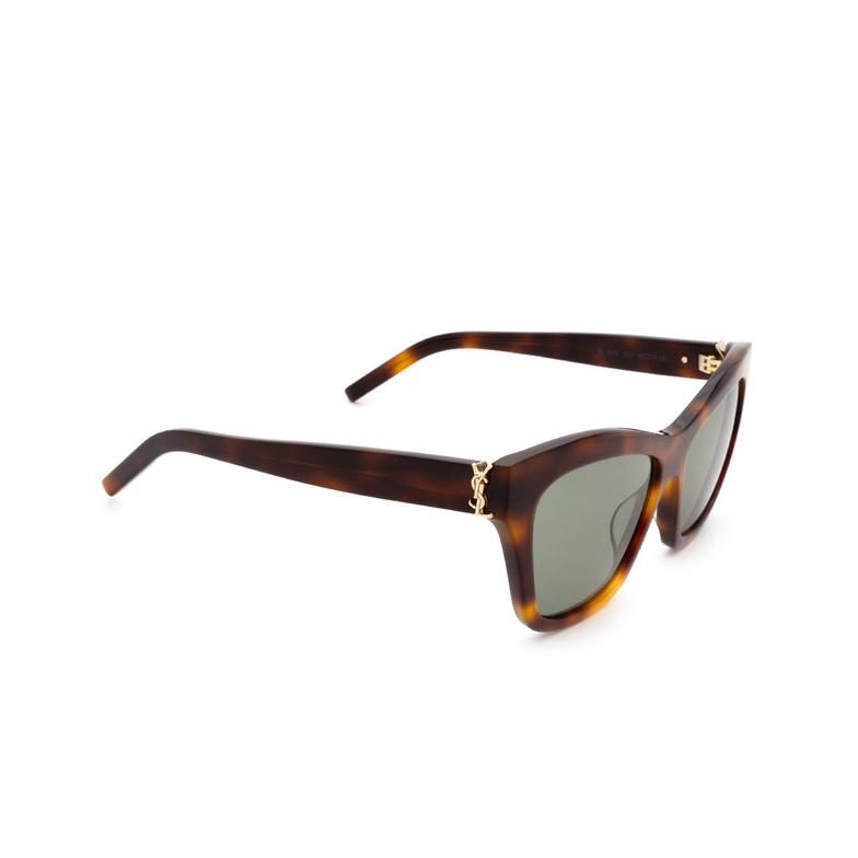 Saint Laurent® Cat-eye Sunglasses: SL M79 color Havana 002.