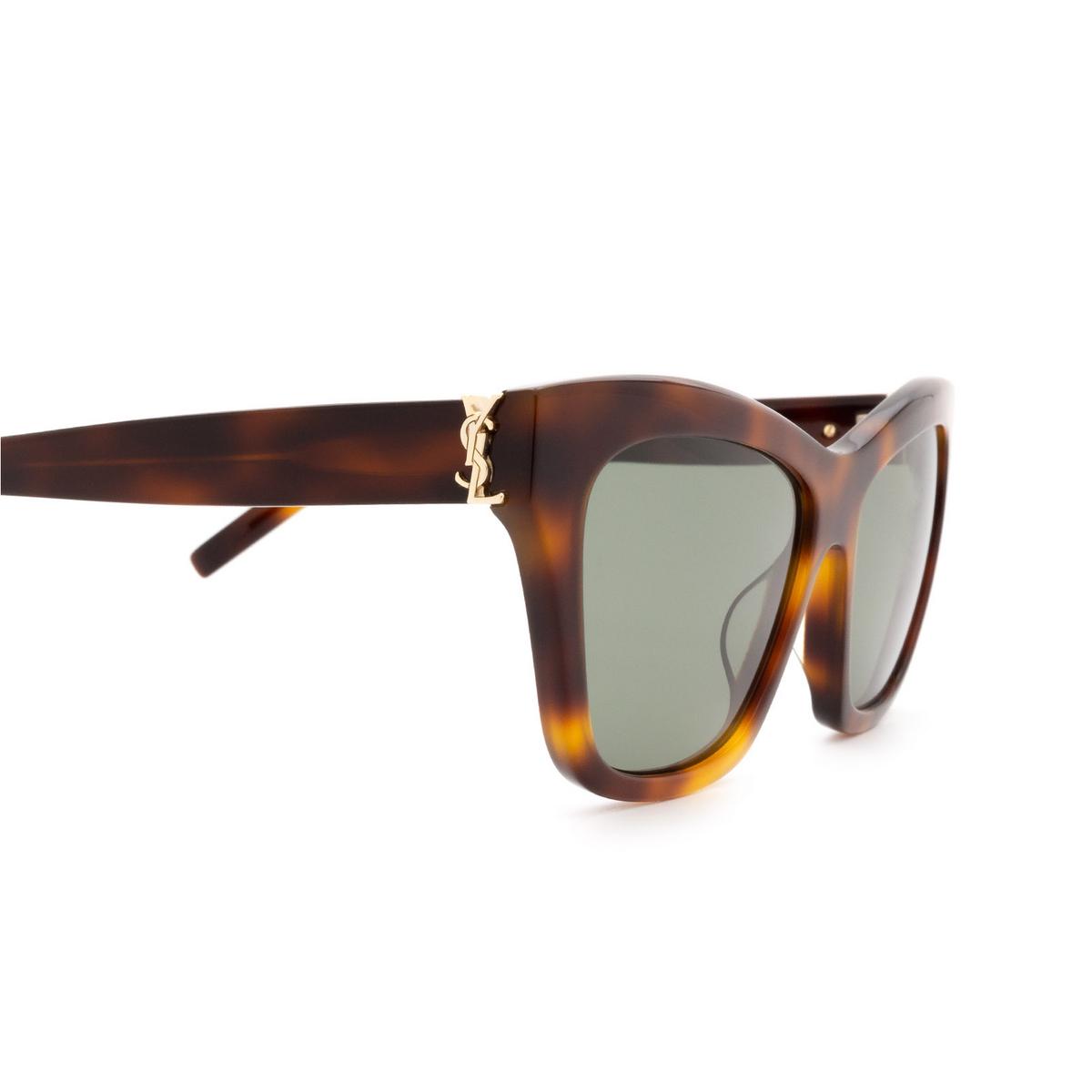 Saint Laurent® Cat-eye Sunglasses: SL M79 color Havana 002 - 3/3.