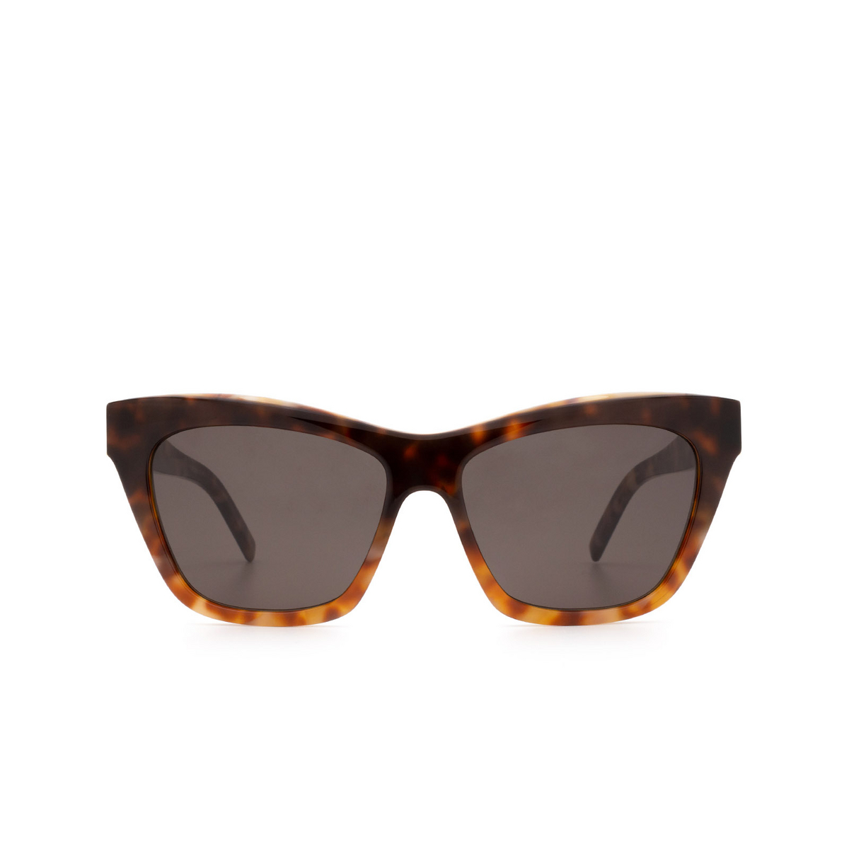 Saint Laurent® Cat-eye Sunglasses: SL M79 color Havana 003.