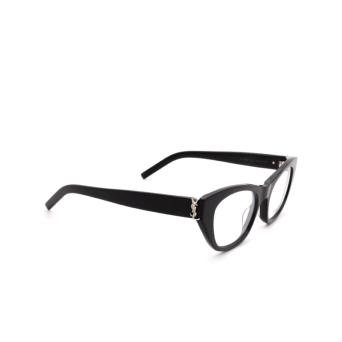 Saint Laurent® Cat-eye Eyeglasses: SL M80 color Black 001.