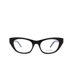 Saint Laurent® Eyeglasses: SL M80 color Black 001.