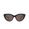 Saint Laurent® Cat-eye Sunglasses: SL M81 color Black 001 - product thumbnail 1/3.