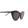 Saint Laurent® Cat-eye Sunglasses: SL M81 color Black 001 - product thumbnail 3/3.