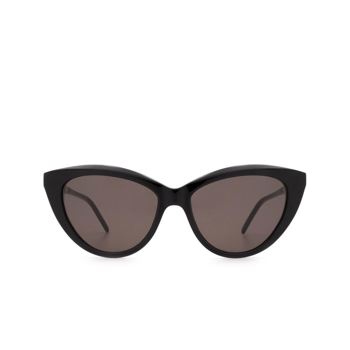 Saint Laurent® Cat-eye Sunglasses: SL M81 color Black 001 - 1/3.