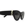 Saint Laurent® Cat-eye Sunglasses: SL M94 color Black 001 - product thumbnail 3/3.