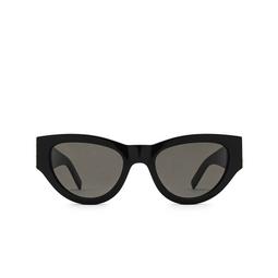 Saint Laurent® Cat-eye Sunglasses: SL M94 color Black 001.