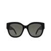 Saint Laurent® Butterfly Sunglasses: SL M95/F color Black 001 - product thumbnail 1/3.