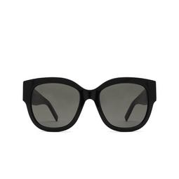 Saint Laurent® Butterfly Sunglasses: SL M95/F color Black 001.