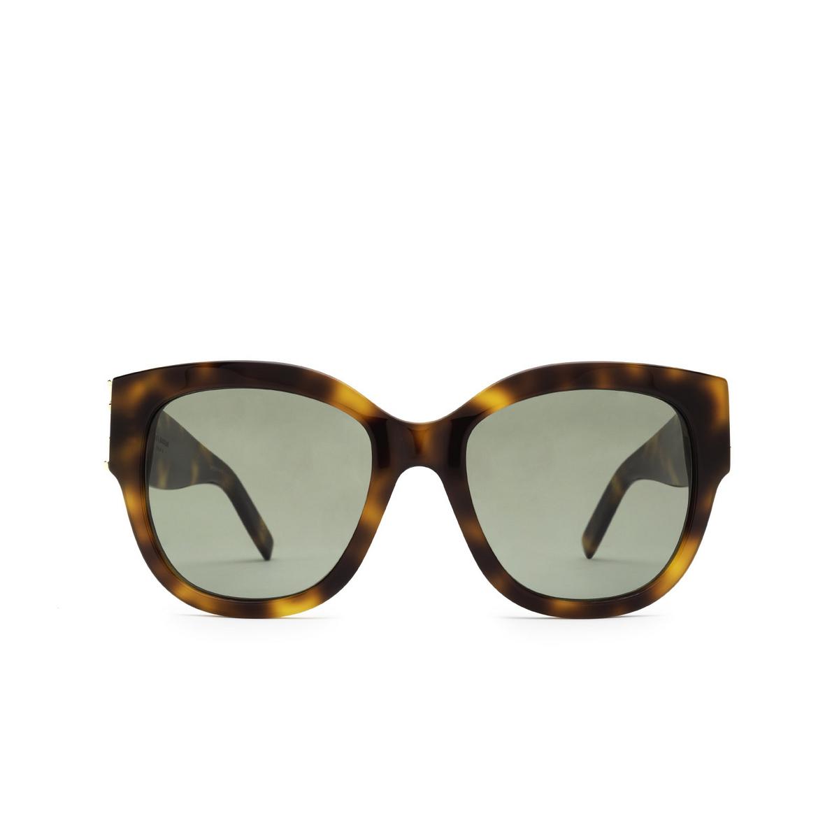 Saint Laurent® Butterfly Sunglasses: SL M95/F color Havana 003 - front view.