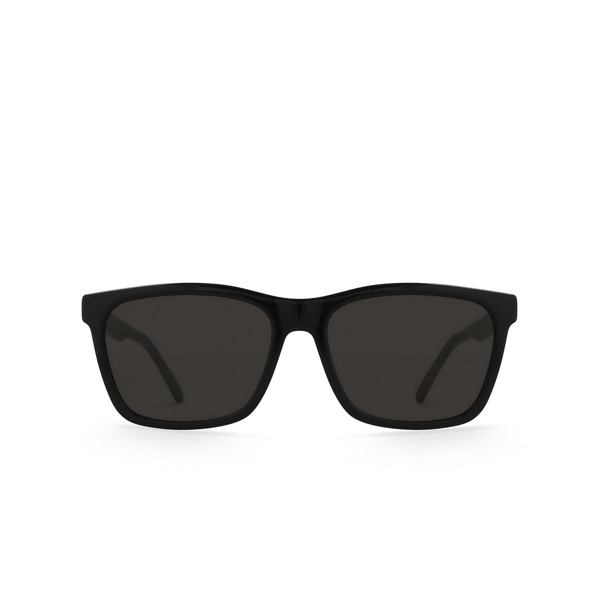 Saint Laurent® Square Sunglasses: SL 318 color Black 001 - 1/3.