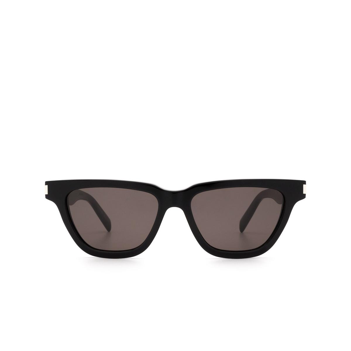 Saint Laurent® Cat-eye Sunglasses: Sulpice SL 462 color Black 001.