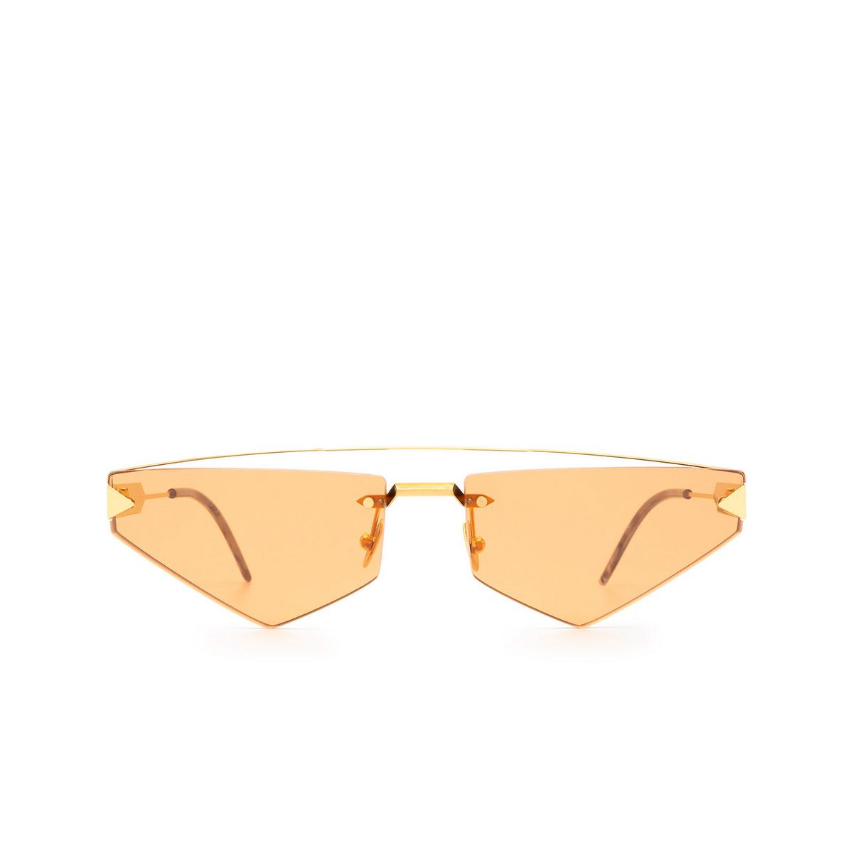 Soya® Irregular Sunglasses: Andrea color Brushed Gold G-org.