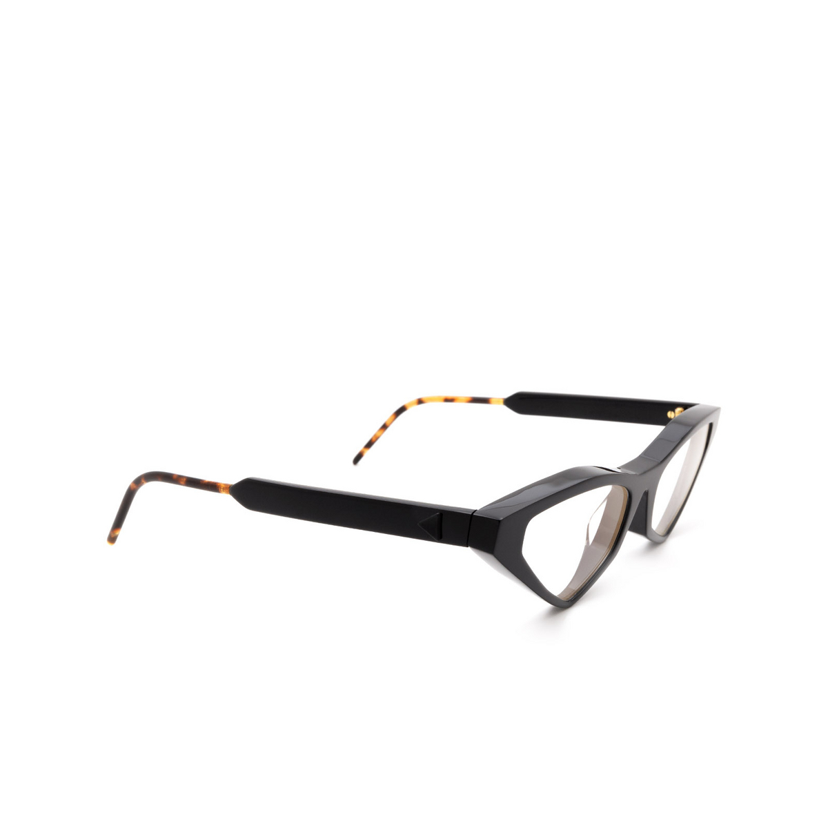 Soya® Cat-eye Eyeglasses: Ann Opt color Shiny Black Blk.