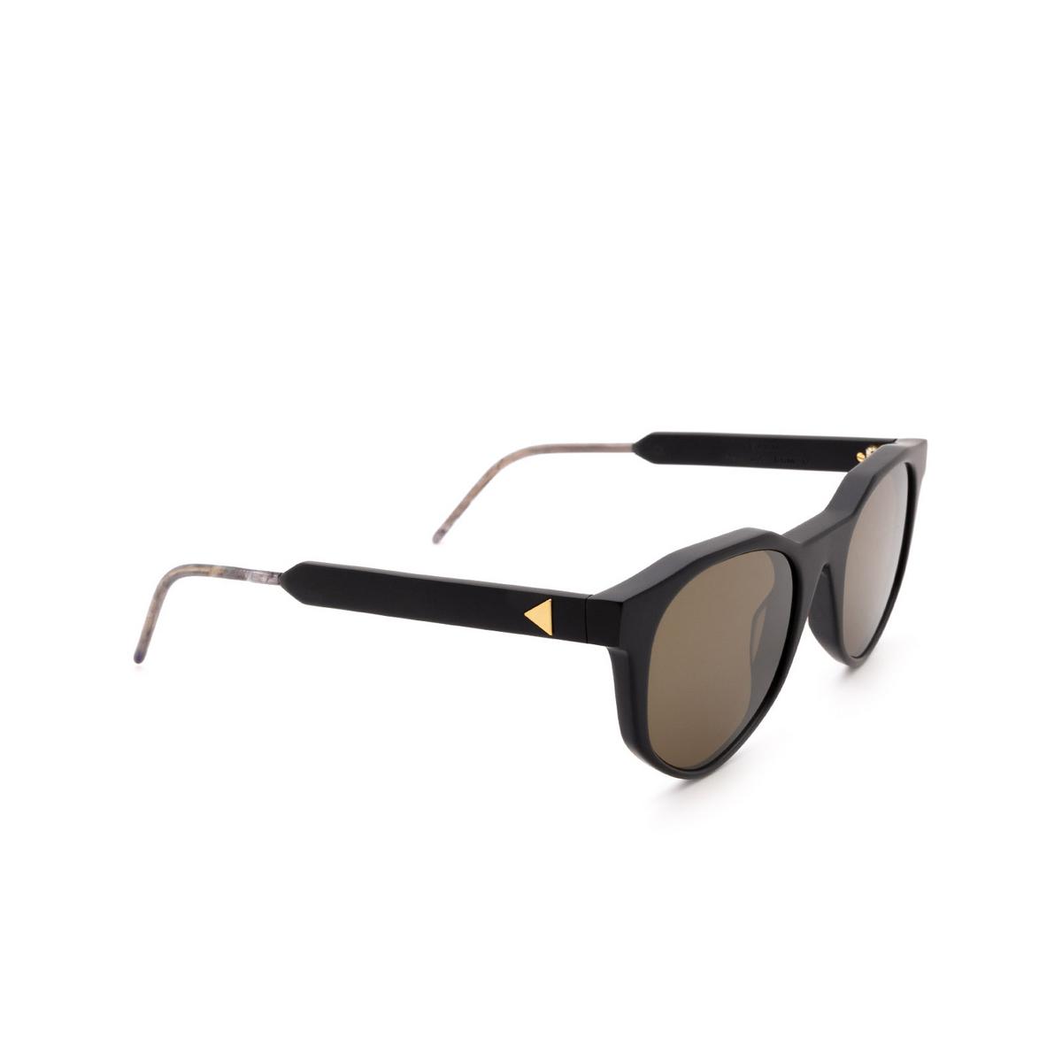 Soya® Irregular Sunglasses: Evan color Matte Black Bkm-g.