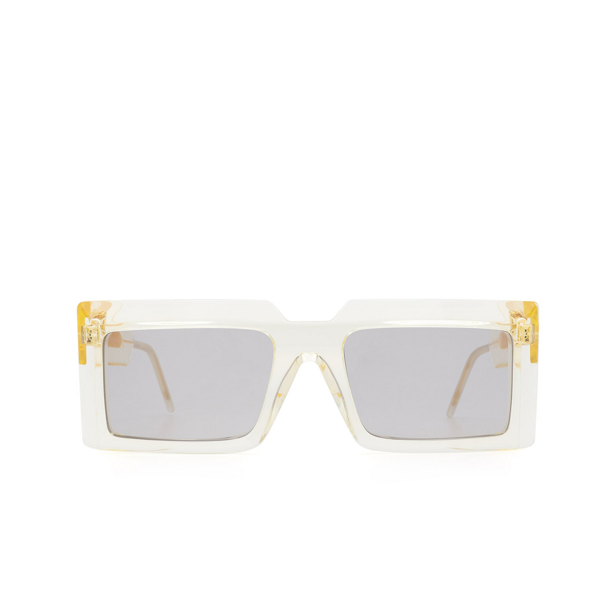 Soya® Rectangle Sunglasses: Ezra color Crystal Light Yellow Cly-lg - front view.