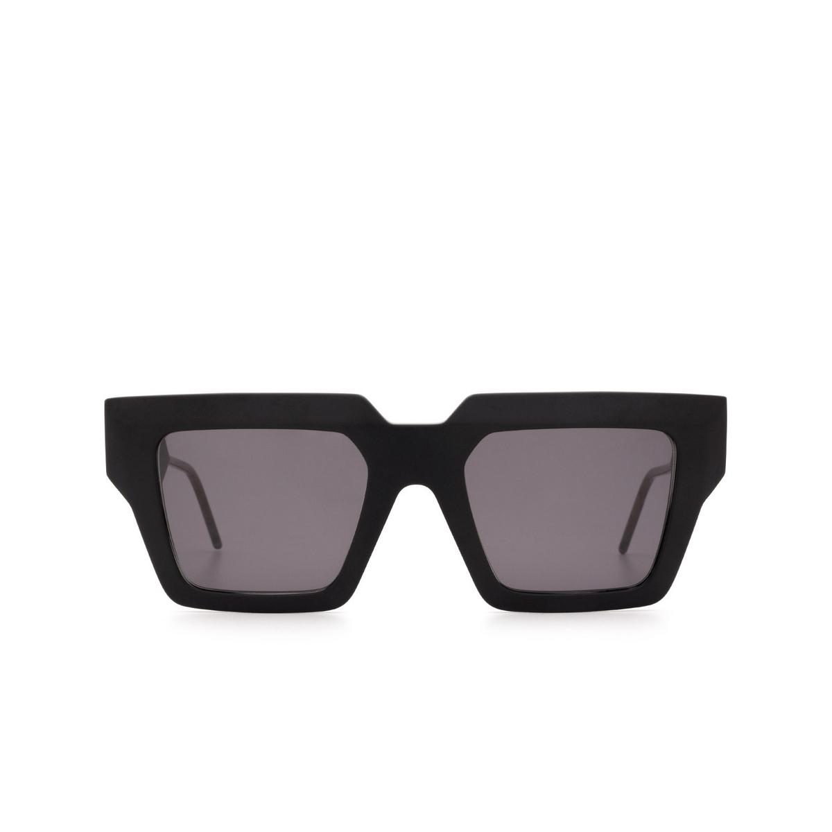 Soya® Square Sunglasses: Hedi color Matte Black Bkm-fs - front view.