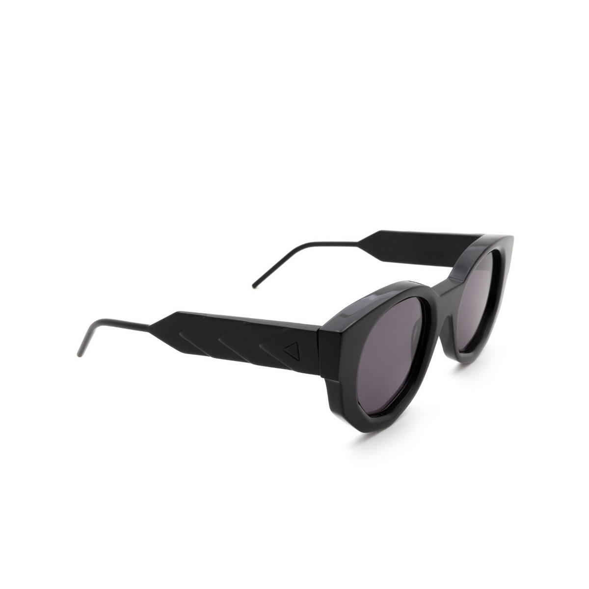Soya® Irregular Sunglasses: Jada color Shiny Black Blk-fs.