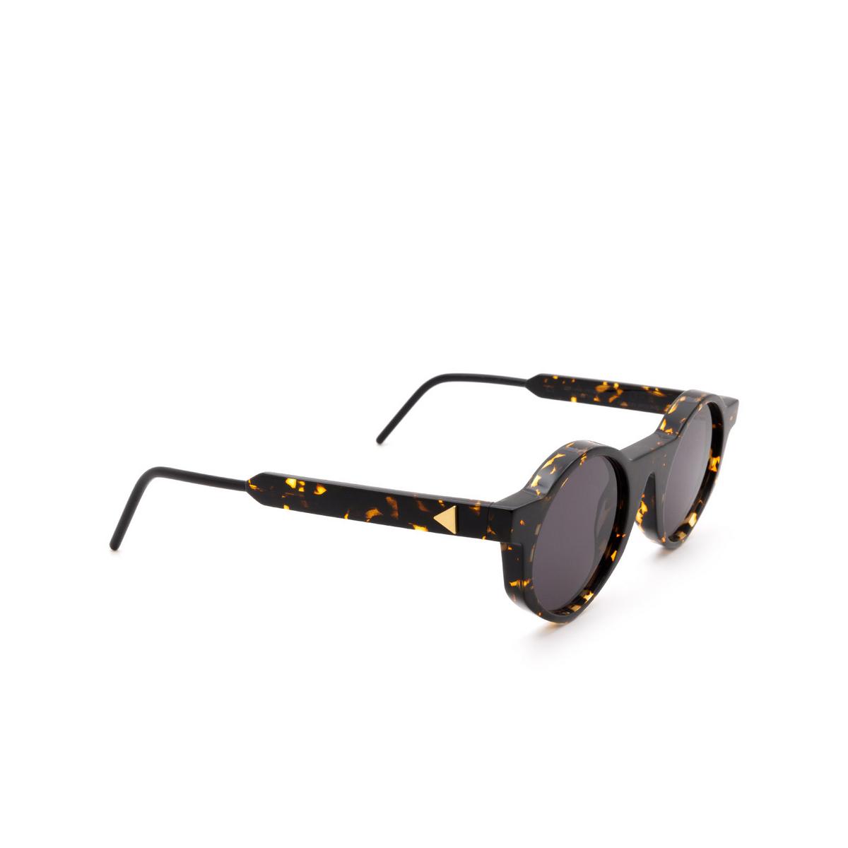 Soya® Round Sunglasses: Off color Shiny Havana Hsc-fs.