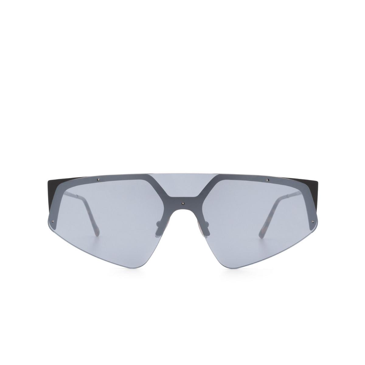 Sportmax® Mask Sunglasses: SM0034 color Black 01C - front view.
