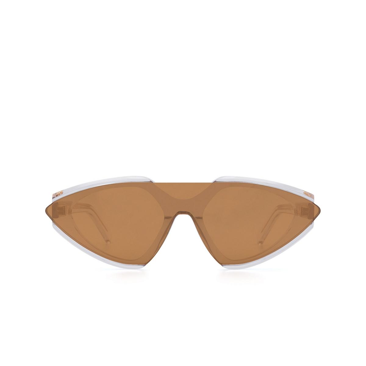 Sportmax® Irregular Sunglasses: SM0001 color Crystal 26G.