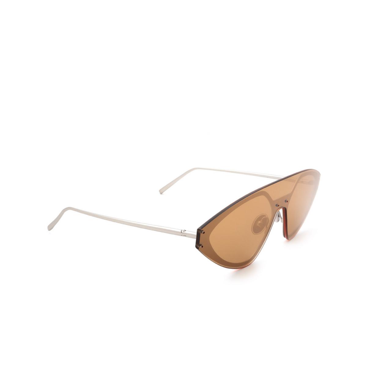 Sportmax® Irregular Sunglasses: SM0002 color Palladium 17G.
