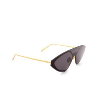 Sportmax® Irregular Sunglasses: SM0002 color Matte Gold 31A.