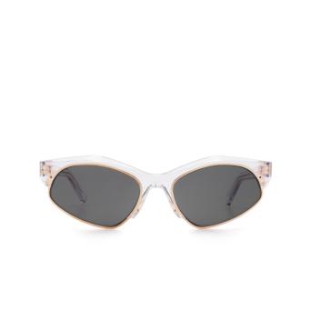 Sportmax® Irregular Sunglasses: SM0004 color Crystal 26A.