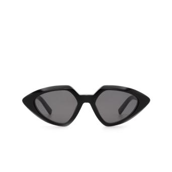 Sportmax® Irregular Sunglasses: SM0005 color Shiny Black 01A.