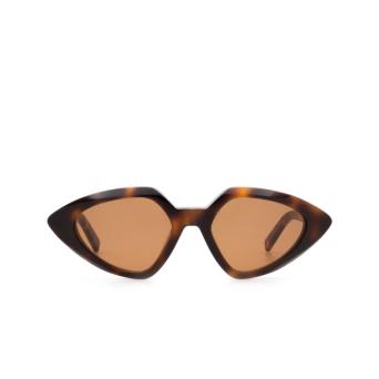 Sportmax® Irregular Sunglasses: SM0005 color Dark Havana 52E.