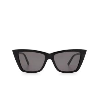 Sportmax® Butterfly Sunglasses: SM0015 color Shiny Black 01A.