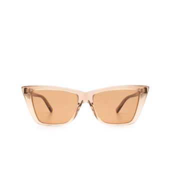 Sportmax® Butterfly Sunglasses: SM0015 color Dark Brown 48E.