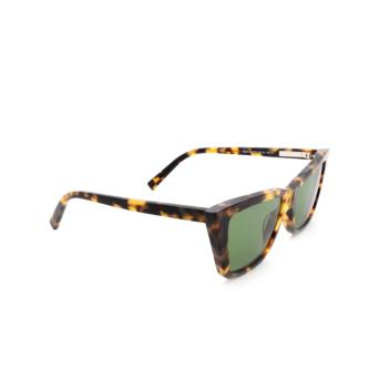 Sportmax® Butterfly Sunglasses: SM0015 color Dark Havana 52N.