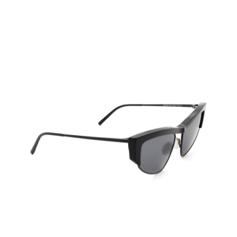 Sportmax® Cat-eye Sunglasses: SM0016 color Shiny Black 01A.
