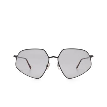 Sportmax® Irregular Sunglasses: SM0018 color Shiny Black 01A.