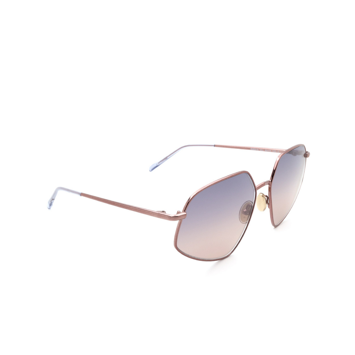 Sportmax® Irregular Sunglasses: SM0018 color Shiny Bronze 34U.