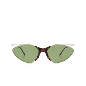 Sportmax® Cat-eye Sunglasses: SM0019 color Shiny Palladium 16N.