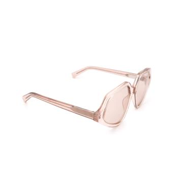 Sportmax® Irregular Sunglasses: SM0021 color Shiny Pink 72S.