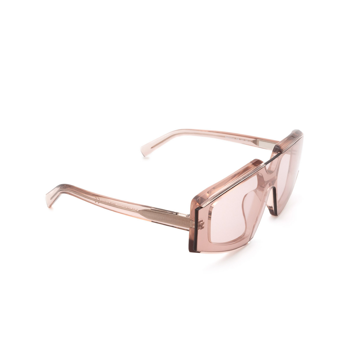 Sportmax® Irregular Sunglasses: SM0022-H color Shiny Pink 72S.