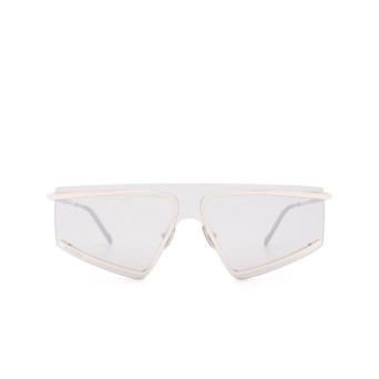 Sportmax® Mask Sunglasses: SM0023 color Shiny Palladium 16C.