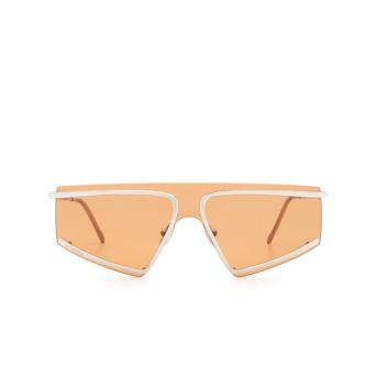 Sportmax® Mask Sunglasses: SM0023 color Shiny Palladium 16G.