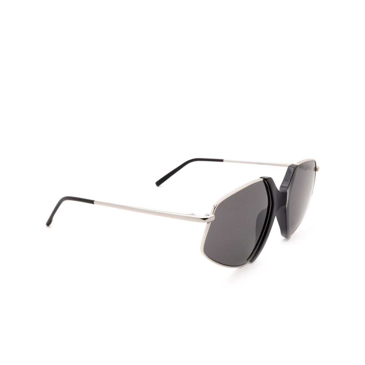 Sportmax® Irregular Sunglasses: SM0029 color Black 01A.